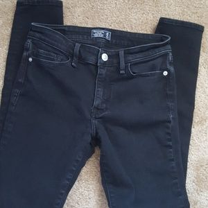 Abercrombie and Fitch Super Skinny Low Rise